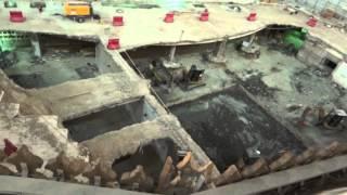 zamzam well area construction {full HD} آب زم زم