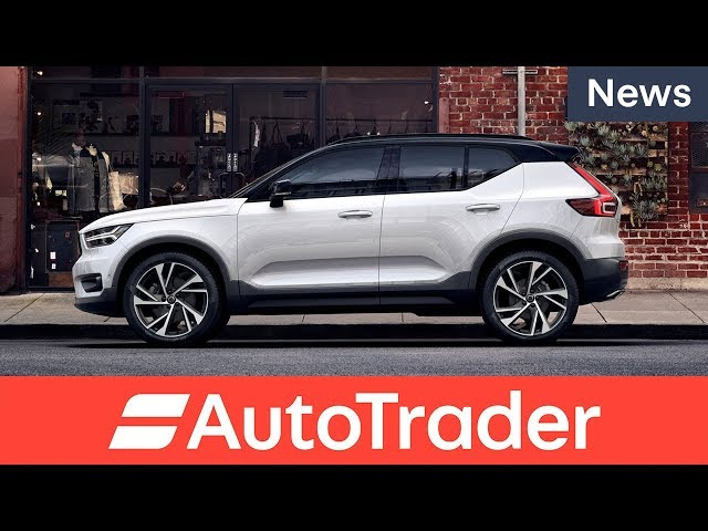First look at the all-new 2018 Volvo XC40 compact SUV