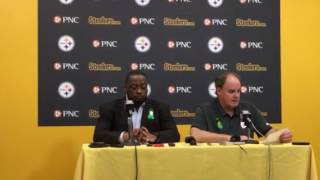 Steelers GM Kevin Colbert wraps up 2017 draft