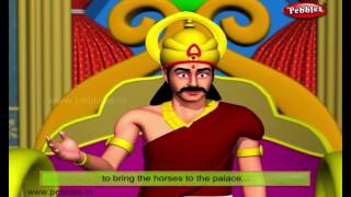 Hungry Horse | Moral Stories of Tenali Raman For Kids | 3D Tenali Raman Stories in English