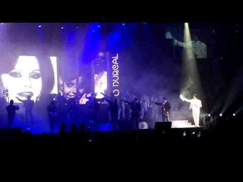 Juan Gabriel homenaje a Rocio Durcal Vegas 2015