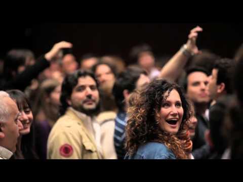 Flash Mob en TEDxRiodelaPlata 2013 El Brindis de la Traviata de Verdi