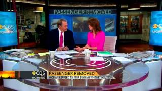 Watch: Whitney Houston singing gets woman booted from plane