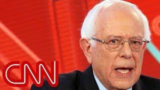 Bernie Sanders praises Trump