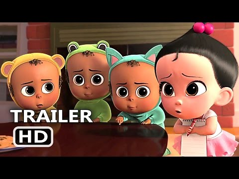 THE BΟSS BАBY Trailer New Clip 2017 Babies Meeting Animation Movie HD