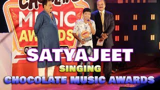 Satyajeet singing at radio chocolate music awards festival 2017