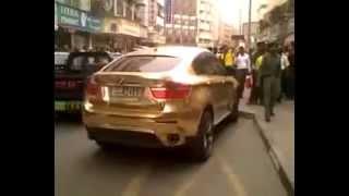 سيارة الوليد بن طلال من الذهب الخالص بوزن 2 طن