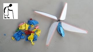 Balloon Powered Helicopter - Third Attempt Part #2