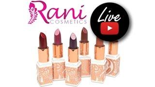 Rani Cosmetics Sparked Dazzling Lipsticks From TotalMakeupJunkie101/Eshani Patel | Review