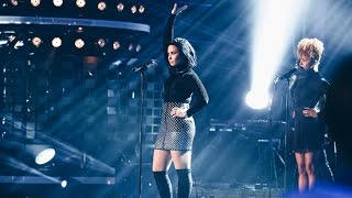 Demi Lovato - Confident (Live on Swedish Idol) - TV4