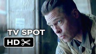 Fury Extended TV SPOT (2014) - Brad Pitt, Logan Lerman War Movie HD
