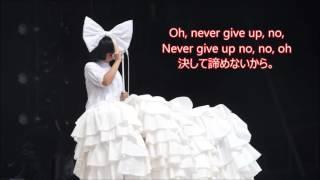 洋楽 和訳 Sia - Never Give Up