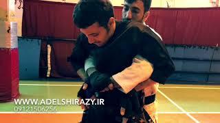[دفاع شخصی خیابانی] - آموزش دفاع در مقابل گرفتن از پشت ( دست باز و شکم )