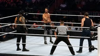 Dean Ambrose vs Seth Rollins vs Roman Reigns - Shield Triple Threat - Battleground Live 7/24/16