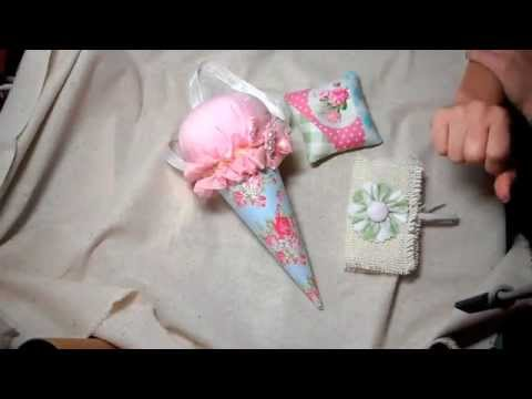 Ice Cream Cone Pincushion Swap- Totally Tilda