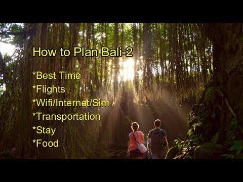 How TO Plan Bali 2 In Hindi