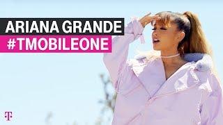 #TMobileONE = unlimited Ariana Grande! John Legere's Exclusive spot!