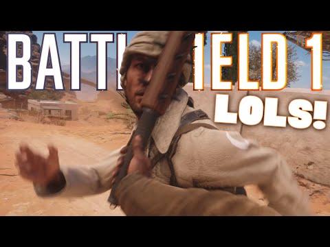 watch BF1 - LOLS! (Battlefield 1 Funny Moments Funtage)