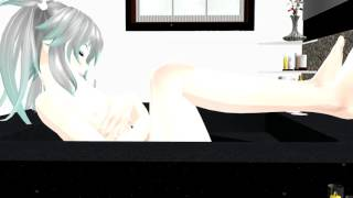 (MMD) Giantess Growth In The Tub