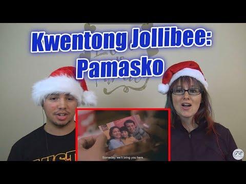 MOM & SON REACTION! Kwentong Jollibee: Pamasko