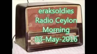 Radio Ceylon 03-05-2016~Tuesday Morning~01 Film Sangeet