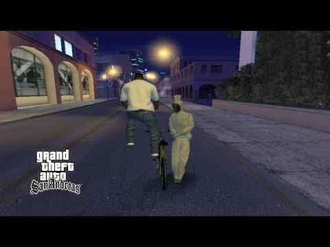 Pocong Lucu Tengah Malam Misteri GTA San Andreas