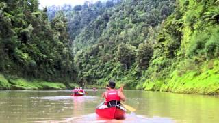 Blazing Paddles - Whanganui River Dec 2012