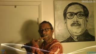 Flute - সাগর কুলের নাইয়ারে অপর বেলা - David Chakraborty -CBSS