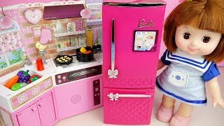 Baby doll kitchen food cooking toys baby Doli play