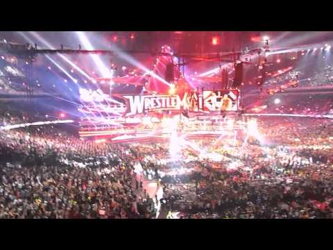 Amazing Daniel Bryan entrance WM30 live recording