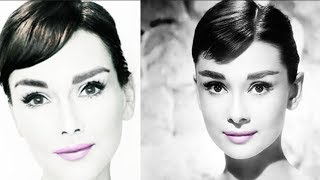 Audrey Hepburn MakeUp Tutorial: How to Look  Like Audrey Hepburn