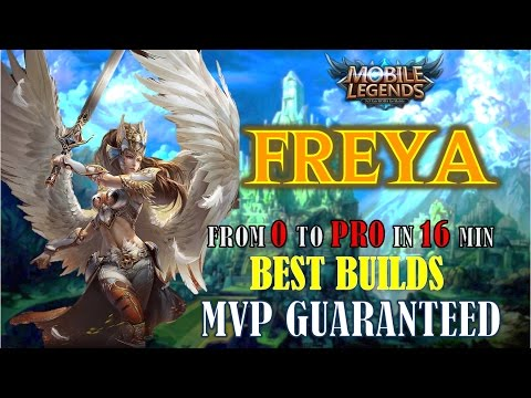 Mobile Legends : BEST BUILD FOR FREYA – UNSTOPPABLE VALKYRIE ! Fast Gameplay #7