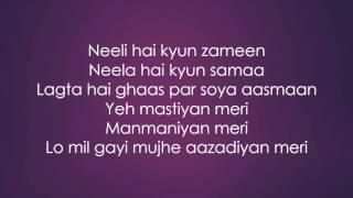 Gazab ka hai yeh din Lyrics