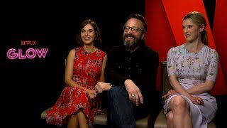 Interview with Alison Brie, Marc Maron and Betty Gilpin for Season 1 of GLOW