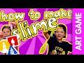 How To Make Slime + Slime Sculpting Challenge