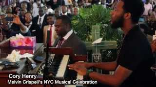 """Cory Henry's solo Tribute to Melvin Crispell """"Wonderful is your name"""""""