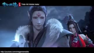 Thiện Nữ Mobile trailer - game kiếm hiệp 3D MMORPG