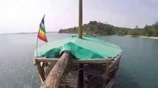 Aboard the Musafir Boat