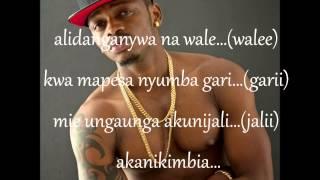 Diamond platinum - Nitampata wapi lyrics video
