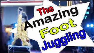 Mystic Mime Artist Acrobat  Ultimate  Foot Juggling Act in Manila Philippines,  Others: Magician