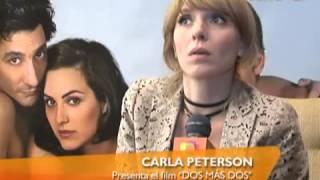 Carla Peterson presenta el filme
