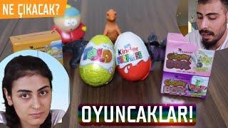 Sedanın Oyuncakları! - Toto Kinder yumurta ve Cosby Box Kutuları