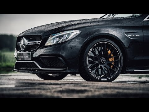 2015 Mercedes-AMG C63 S Review | www.hartvoorautos.nl | English Subtitled