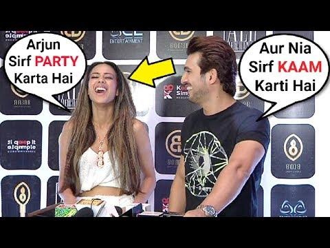 Xxx Mp4 Nia Sharma And Arjun Bijlani Funny Interview Ishq Mein Marjawan Couple 3gp Sex