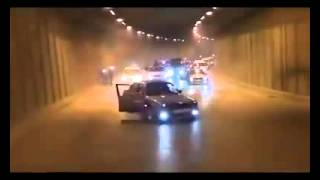 سيارات تفحط في نفق وتوقعات بكونه في الأردن والأمن يشكك