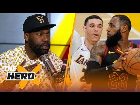 Xxx Mp4 Baron Davis On Why Lakers Shouldn T Drop Lonzo To Get LeBron Kawhi And Paul George NBA THE HERD 3gp Sex