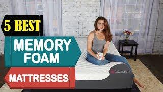 5 Best Memory Foam Mattresses 2018   Best Memory Foam Mattresses Reviews   Top 5 Memory Mattresses
