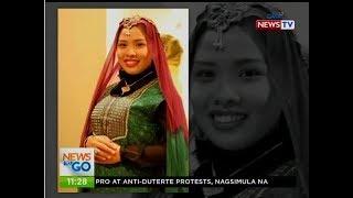 Monaliza Adam-Mangelen na tubong Sultan Kudarat, napiling kumanta ng pambansang awit sa SONA 2017