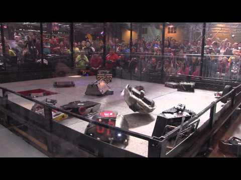 Xxx Mp4 Robot Wars Gladiator Fight 18 Robot Free For All Robochallenge 2015 3gp Sex