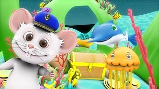 A Sailor Went To Sea Sea Sea | Rhymes for Kids | Nursery Rhymes Songs Collection | Funny Baby Songs